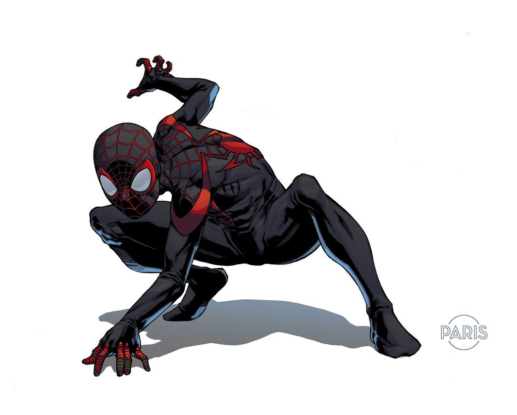 Miles Morales by ParisAlleyne.deviantart.com on ...