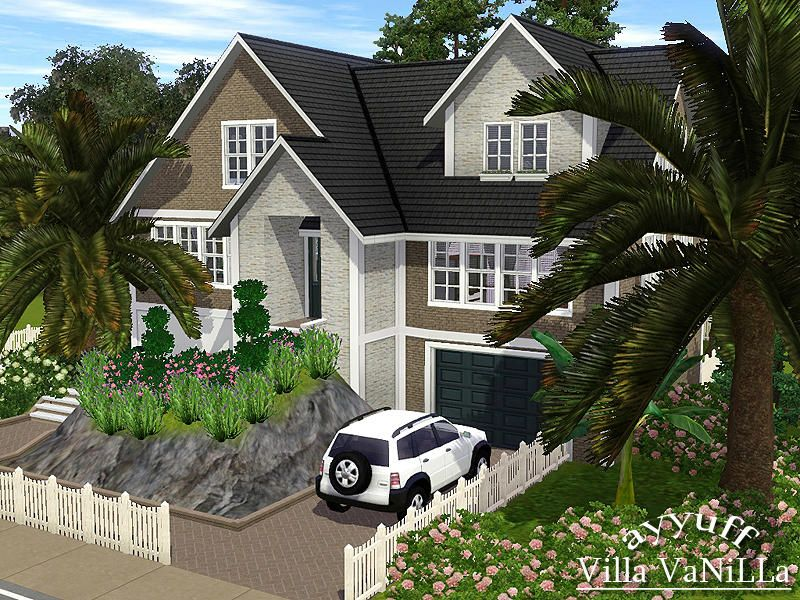 Classic American house for 5 persons  Found in TSR Category