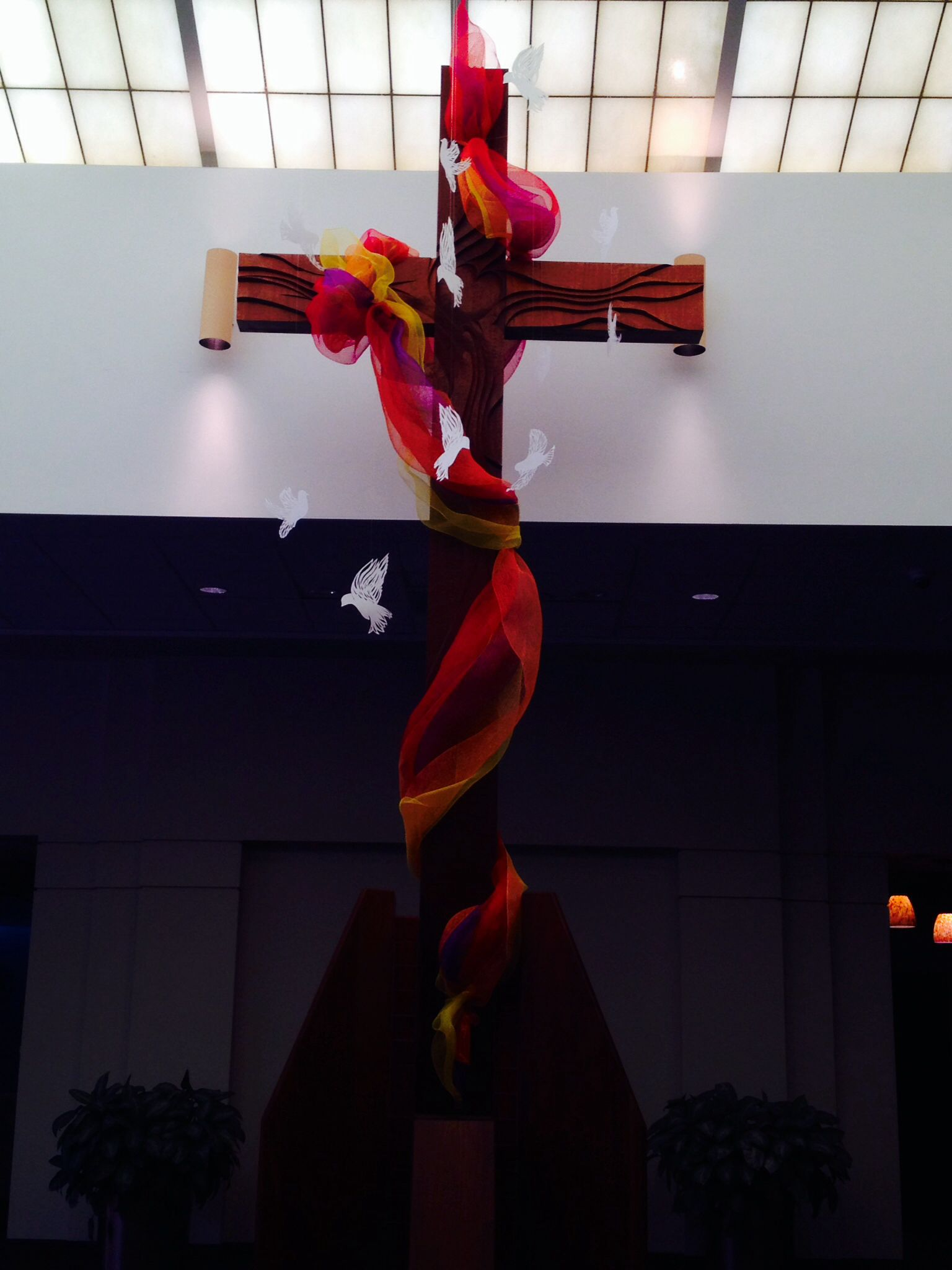Pentecost Installation Flame Of The Holy Spirit