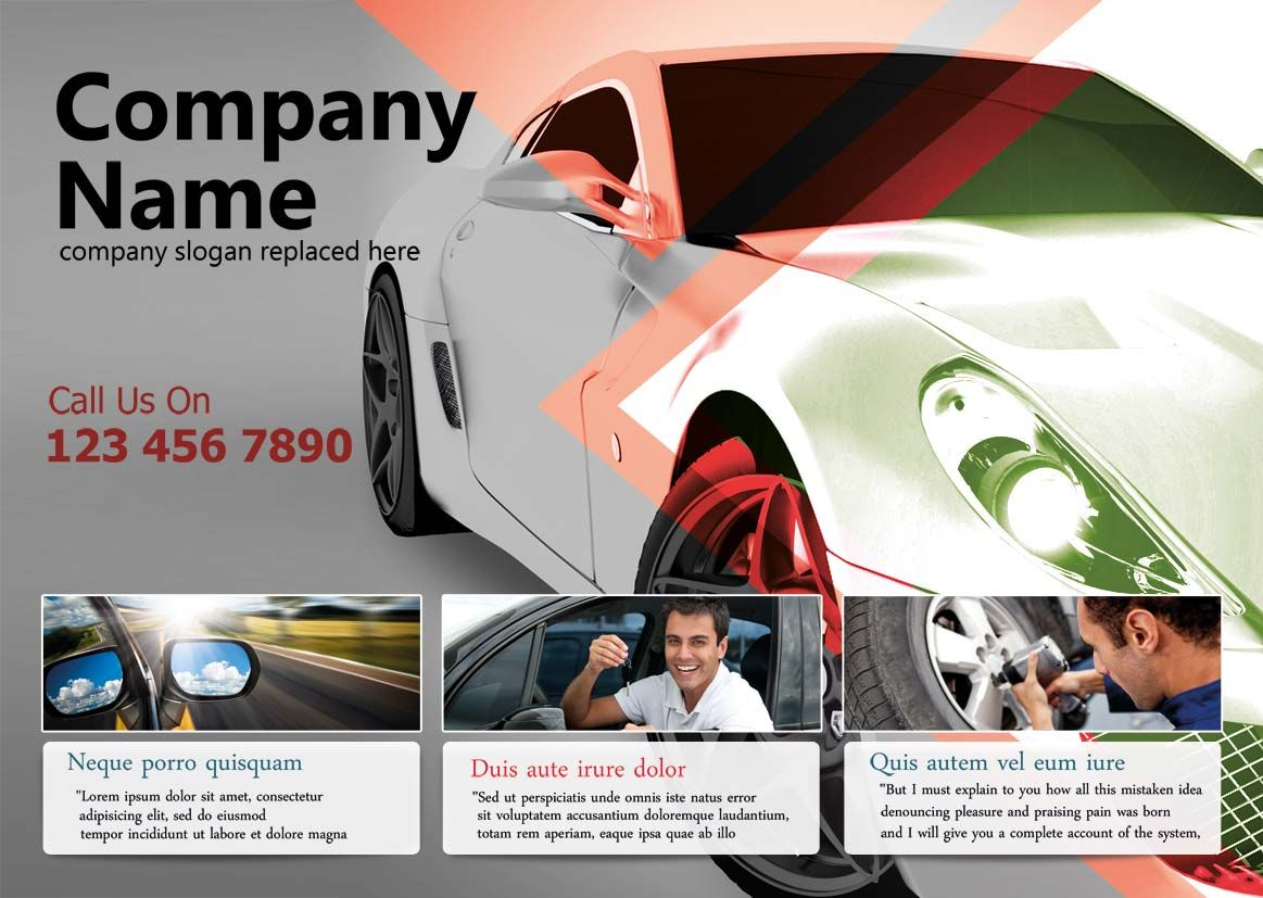 Are you in search of professional auto repair flyer