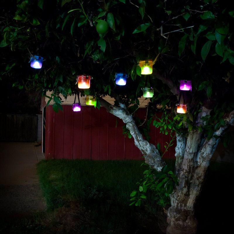 Solar Lights Purple Solar Light For Wedding Night