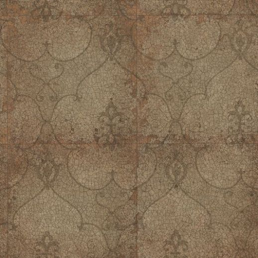 Rococo Mirror Copper (ZPEW07005) - Zoffany Wallpapers ...