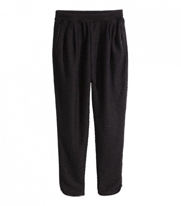 H&M Pants with Leather Detail