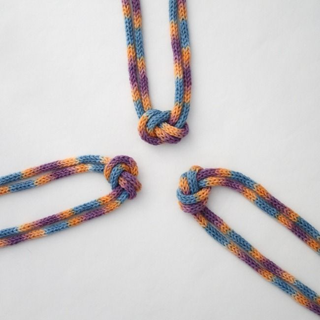 Lost + Found Knitted Knotted Necklace | YES | Pinterest | Loom ...
