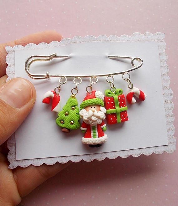 Polymer clay christmas gift ideas