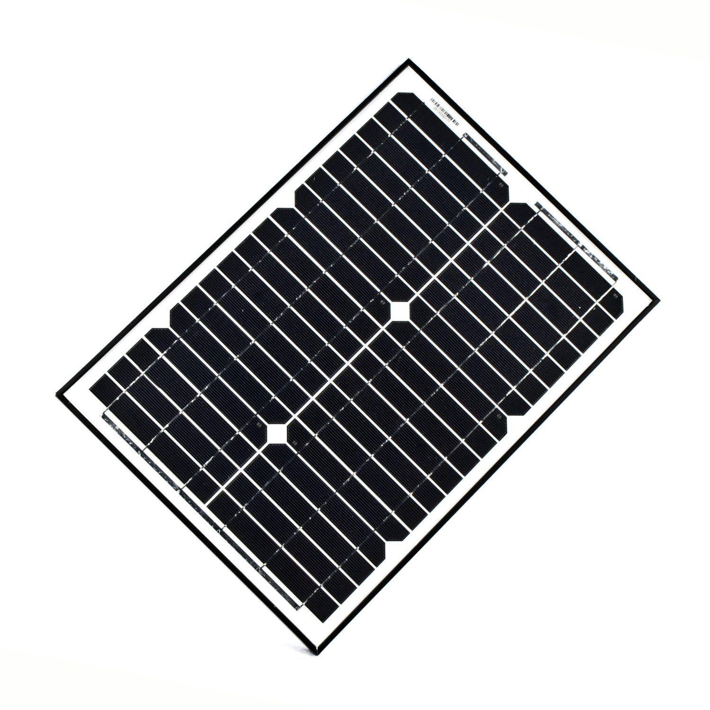 Aleko 12volt 20 Watt Solar Panel Review