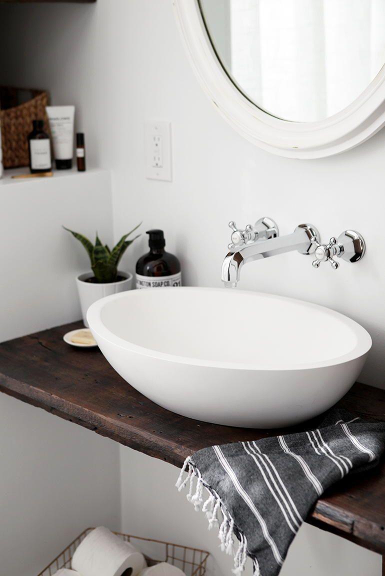 Diy floating bathroom vanity where simple meets chic