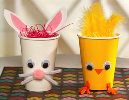 20 Easter Crafts For Preschoolers And Toddlers Paper CupsPaper