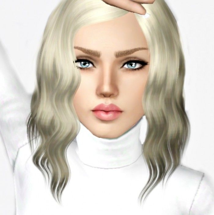 The Sims 3 Download: Ashley Hare Female Model By Bill Sims