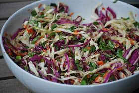 Passion Foodie: Asian Cole Slaw