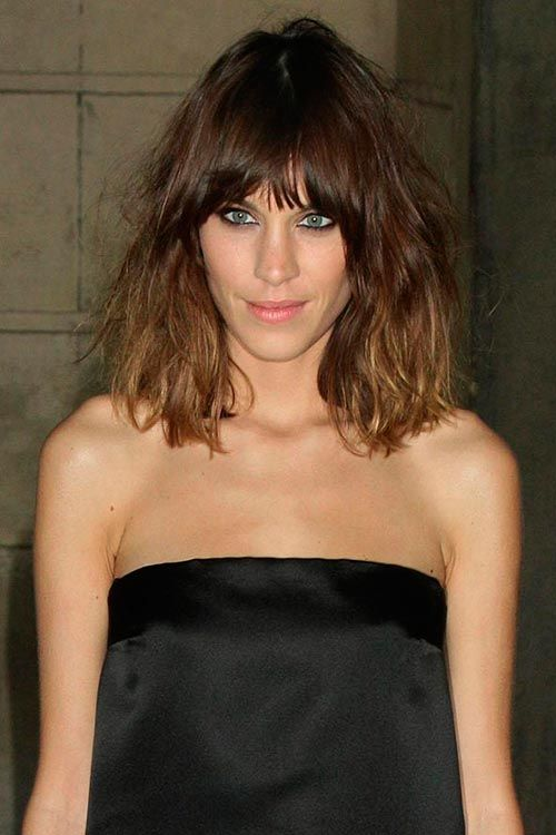 Gorgeous Bedhead Hairstyle Ideas Hairstyles Nail Art Beauty And Fashion Alexa Chung Hair Messy Bob Hairstyles Hairstyle