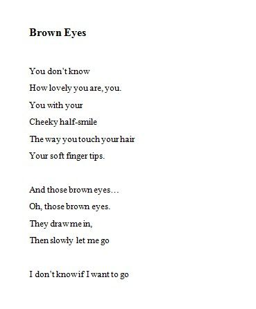 Brown Eyes Poetry With Images Brown Eye Quotes Eye Quotes