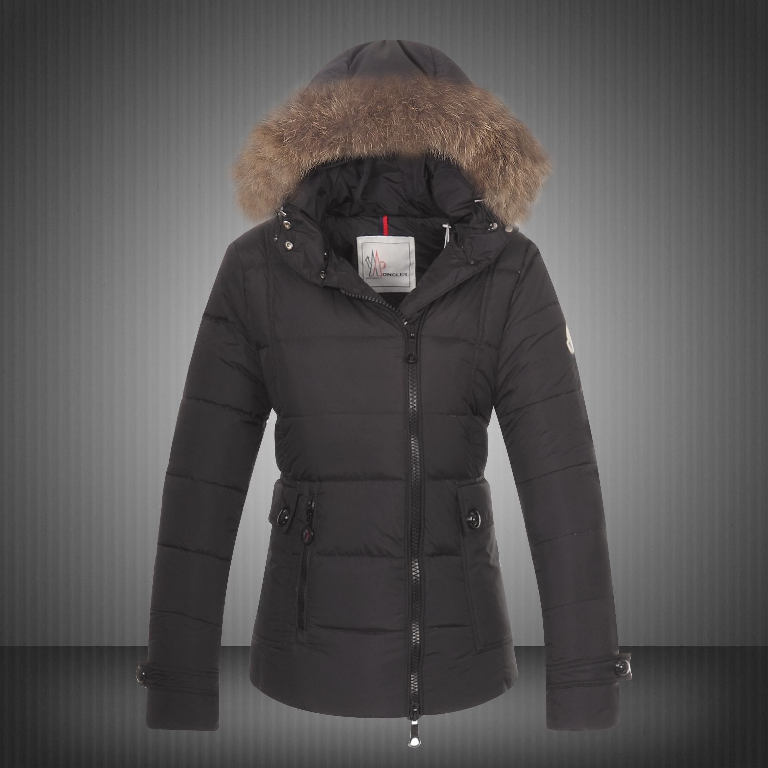 Moncler Outlet UK, Cheap Moncler Down Jackets, Coats, Vests Sale 2014 Moncler Bryone Down Jacket For Women Black -