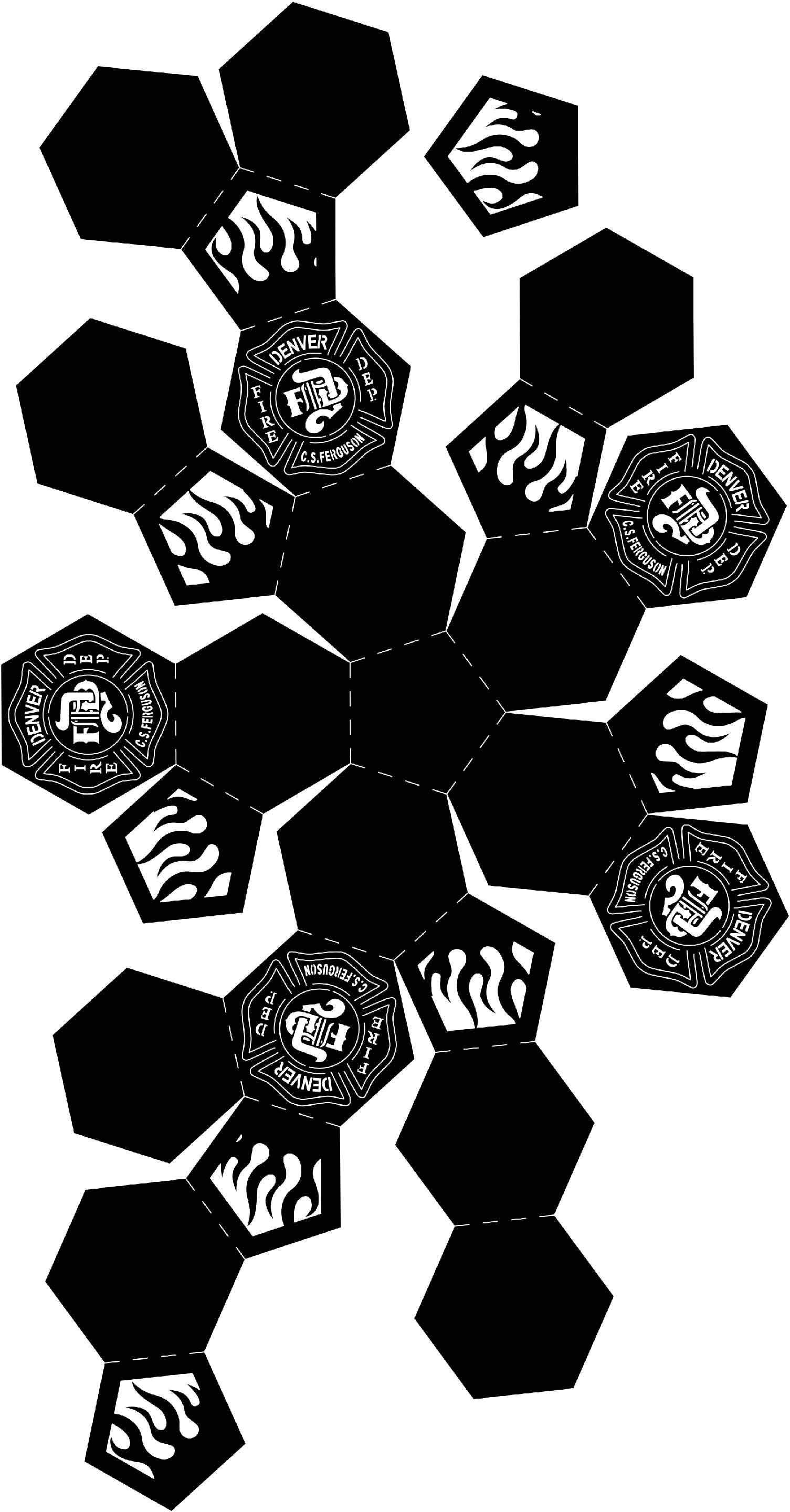 Fire Pit Ball Denver Firefighter Logo с изображениями