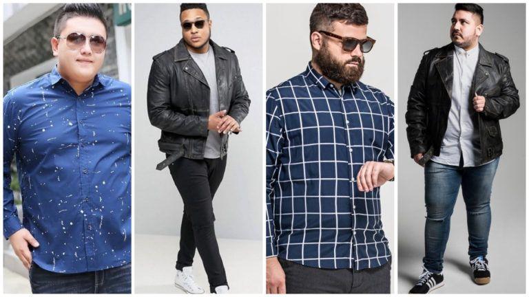 Outfits Para Hombres Gordos Como Vestir Bien En Tallas Xl Hombres Gorditos Outfits Hombre Combinacion De Ropa Hombre