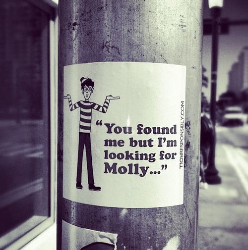 dónde está Molly / Where's Molly