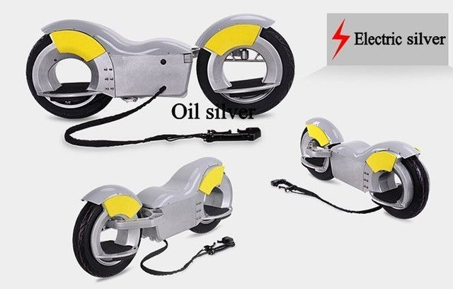 Two Stroke 49CC 1000W/36V Off-road Rear Disc Brake Electric Skateboard