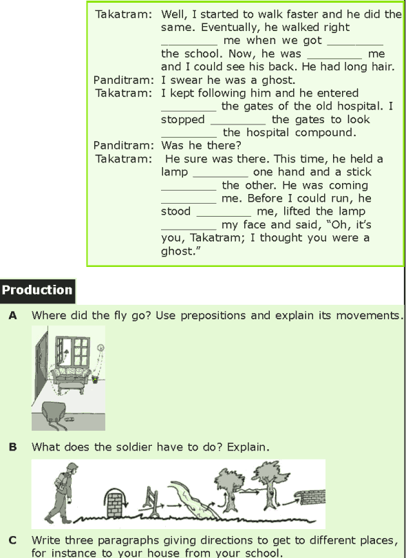 Grade 7 Grammar Lesson 15 Prepositions Of Location And Direction