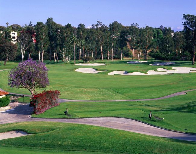10th hole, Riviera CC, Los Angeles, California