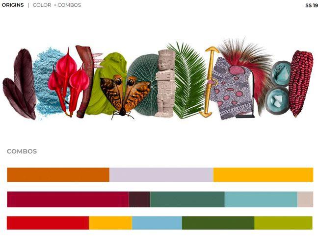 Origins spring summer 2019 fashion trend forecast Colors ...