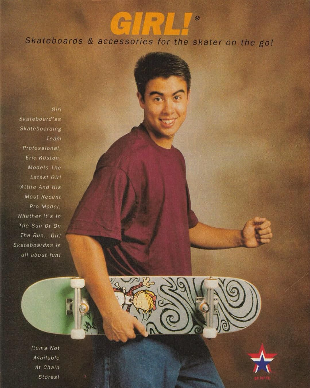 Eric Koston Girl Skateboards Ad