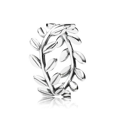 51069479a The laurel wreath is linked to peace and victory, adorn your finger with  the elegant design for classic everyday style. #PANDORA #PANDORAringMake a  ...