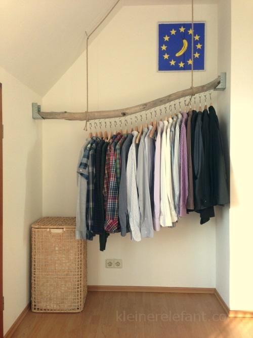 kleiderstange aus treibholz wohnen pinterest kleiderstange treibholz und waldtiere. Black Bedroom Furniture Sets. Home Design Ideas