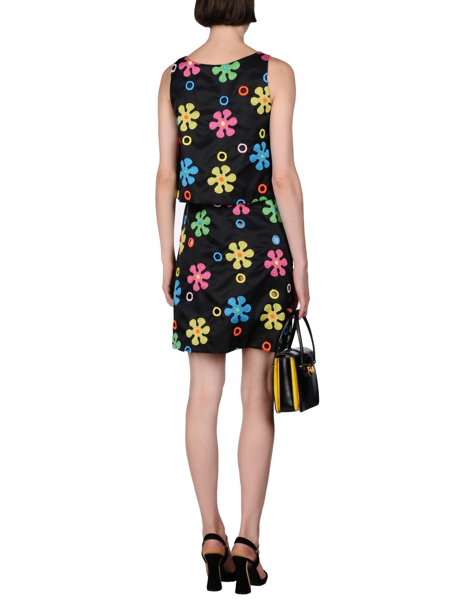 Moschıno couture women short dress on yoox the best online