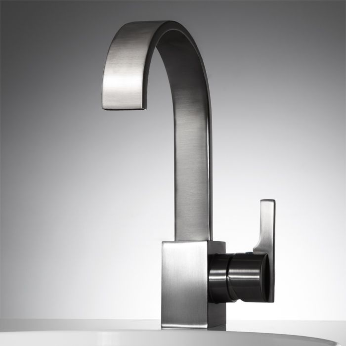 Ultra Single-Hole Bathroom Faucet with Pop-Up Drain | Faucet ...
