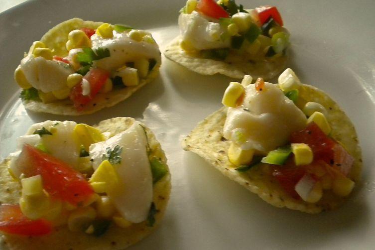 Sweet Corn and Scallop Ceviche