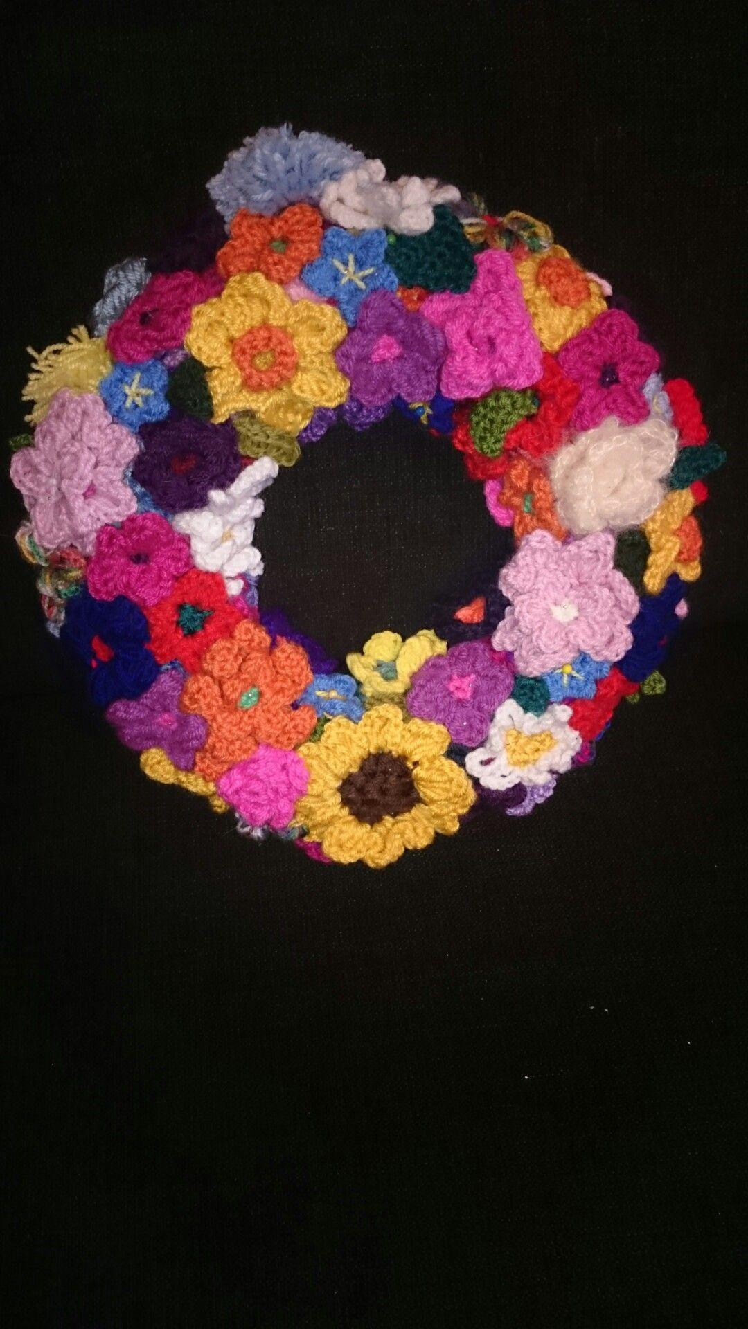 Blumen Türkranz