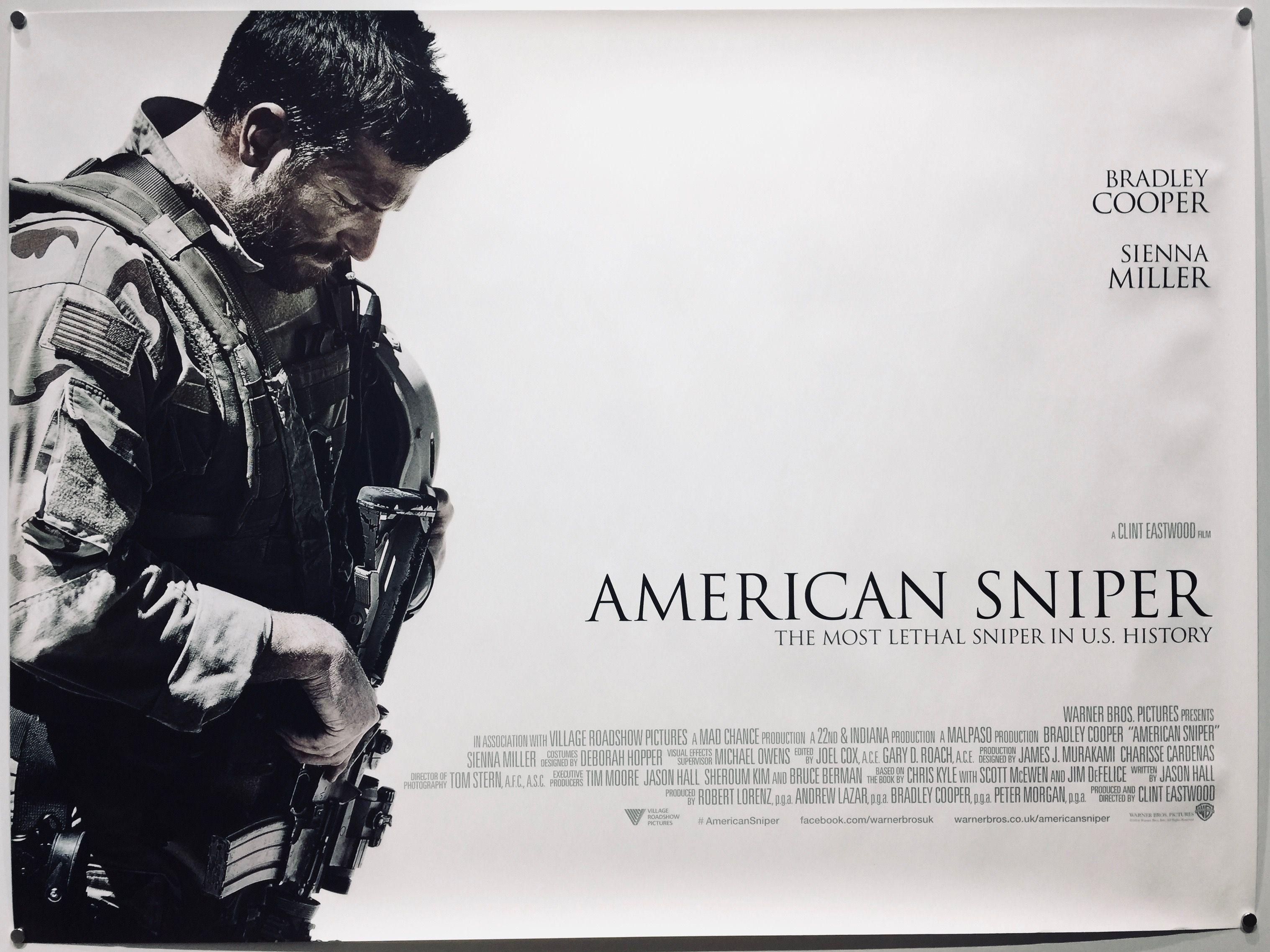 American Sniper | American sniper, Sniper, Movie posters vintage