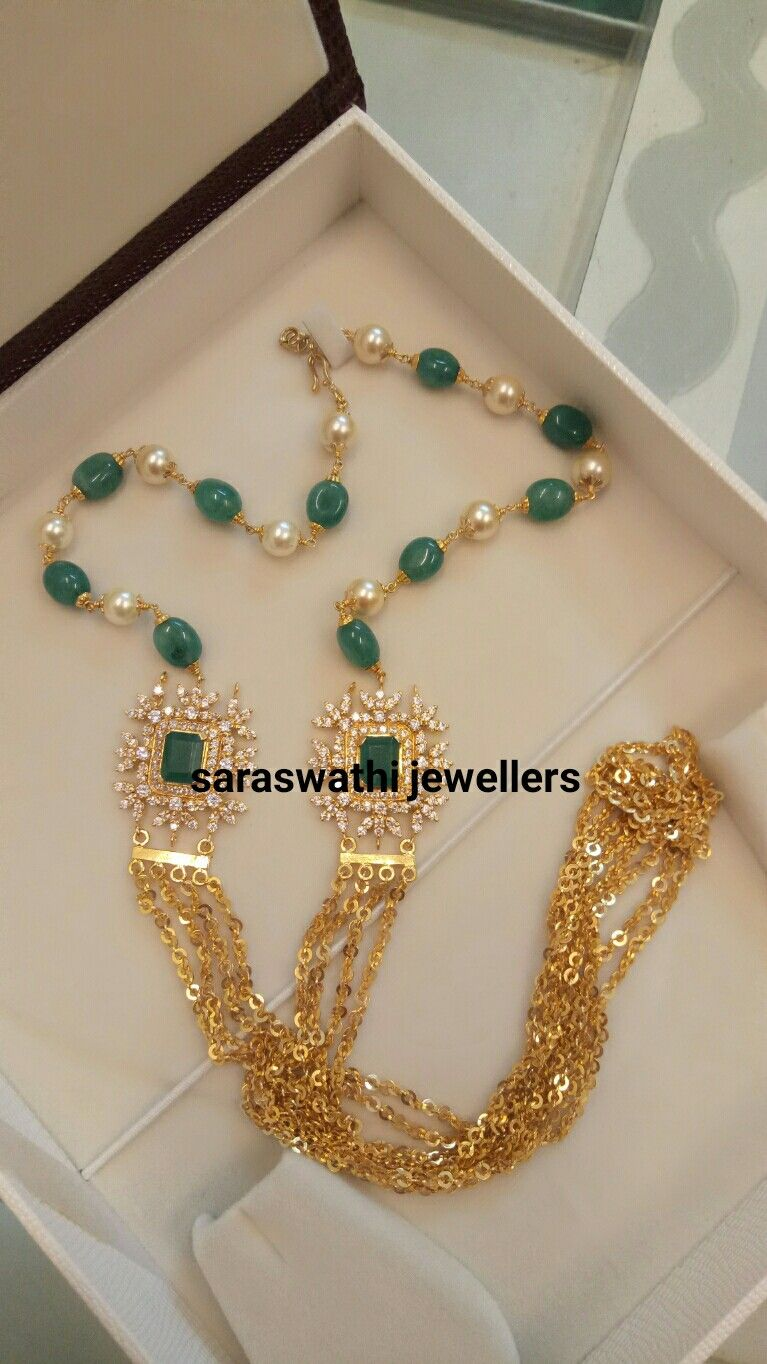 Beautiful Chandra Haram Gold Jewelry Fashion Gold Necklace Designs Gold Jewellery Design