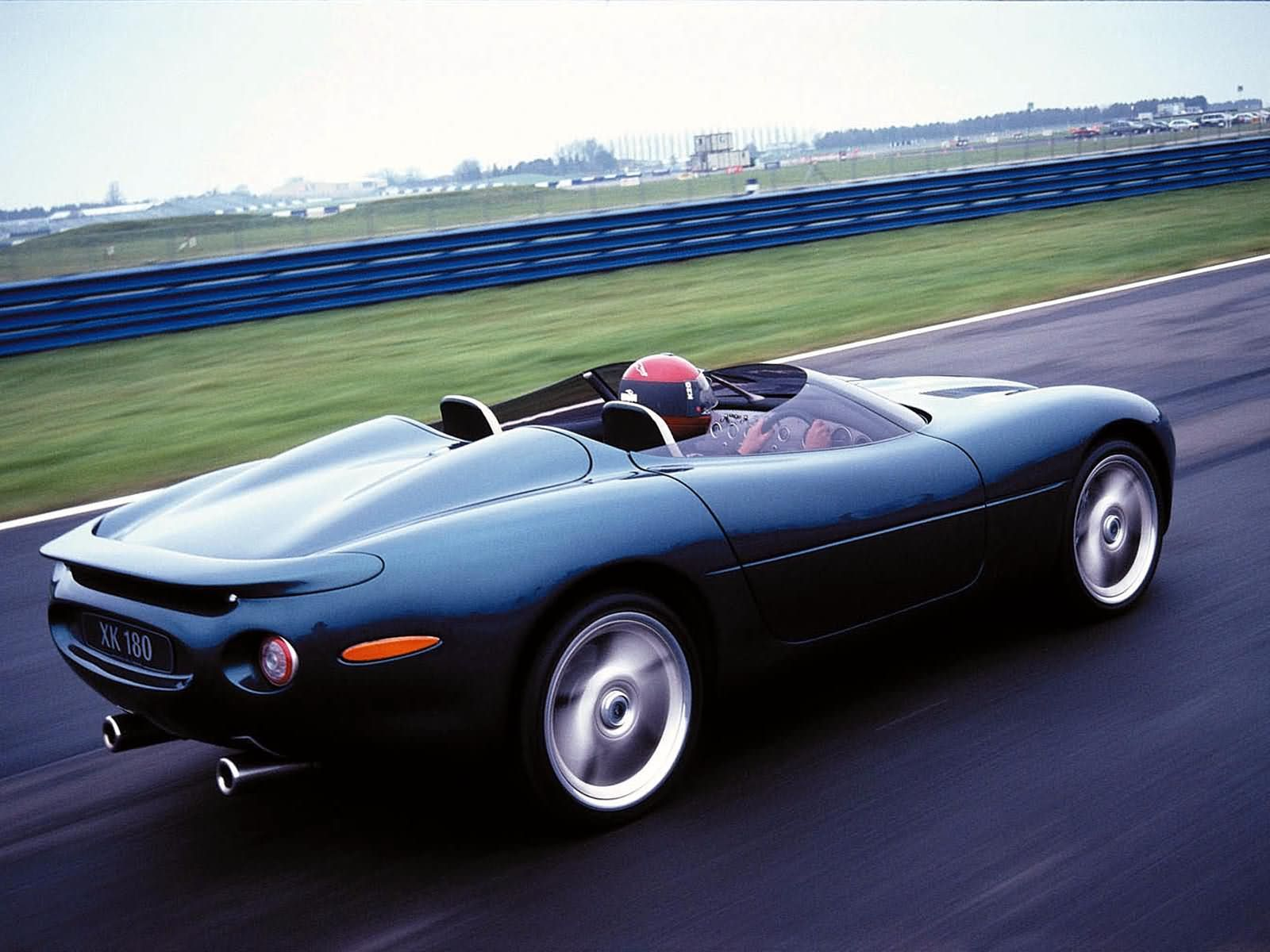 Vehicle · U002798 Jaguar XK180 Concept