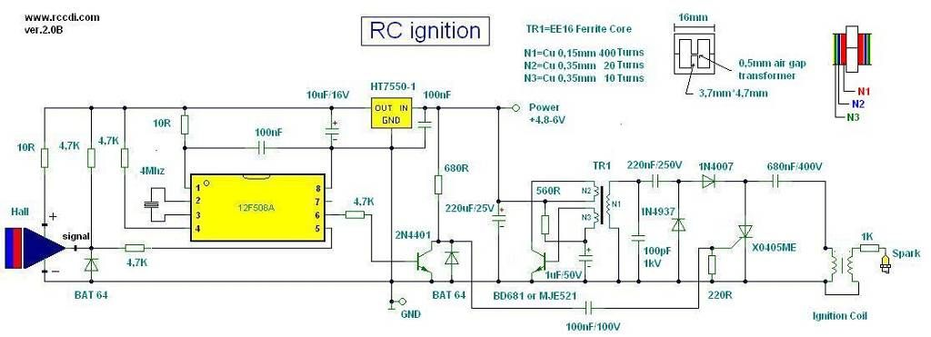 cdi ignition schematic pin on cdi prog  pin on cdi prog