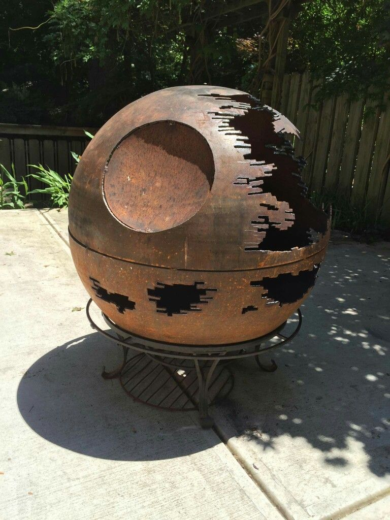 death star fire pit because death star fire pit bbq