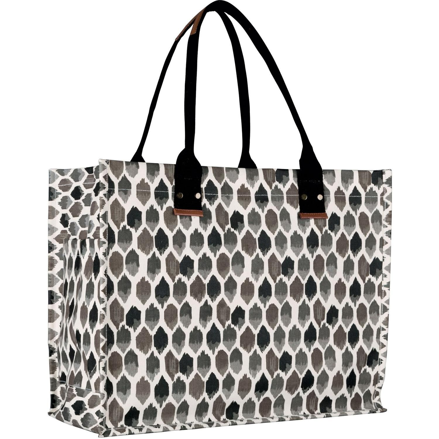 Rock Flower Paper Gigi Tote Charcoal The Company Store In 2019