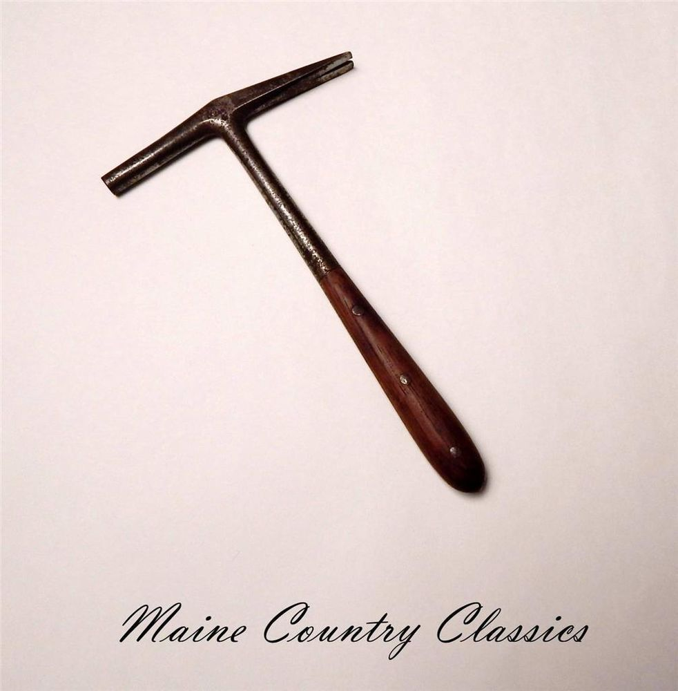 Vintage C S Osborne Leather Workers No 4 Tack Hammer