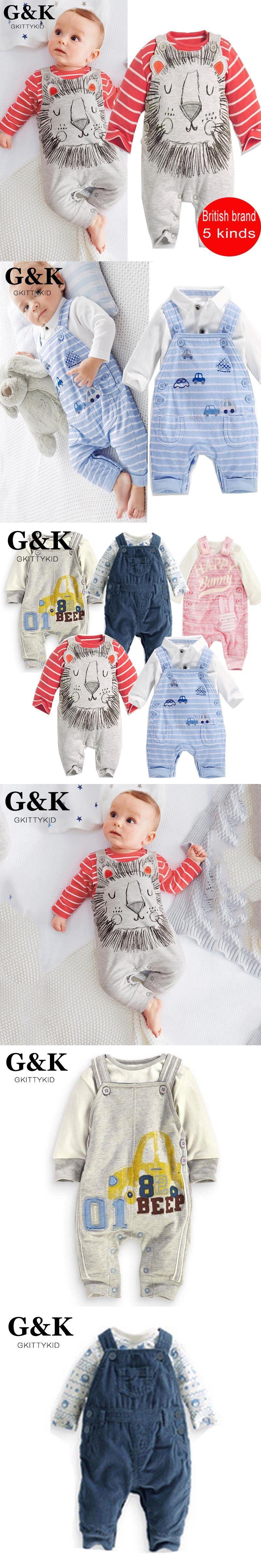 Summer style Baby clothing set new British brand baby girl boy