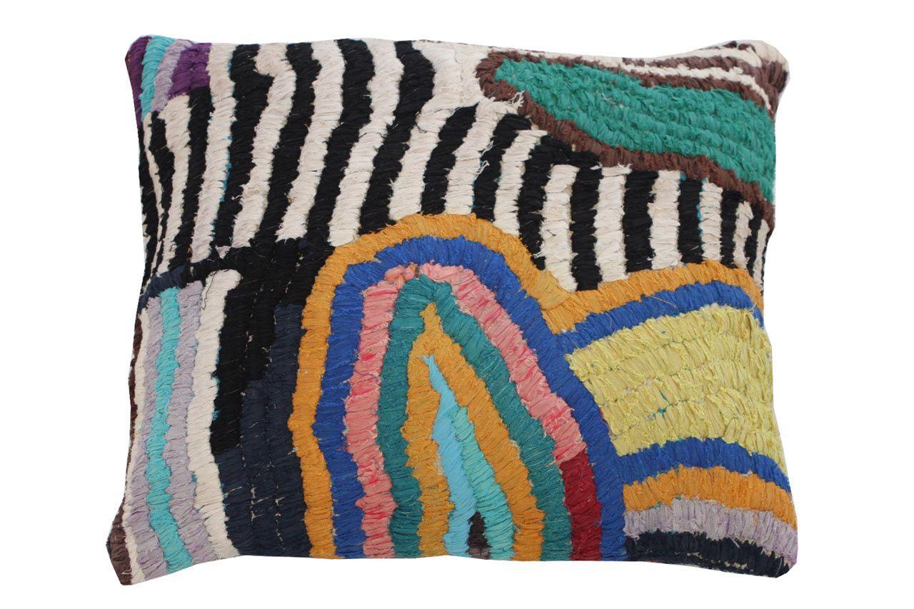 Vintage textile floor pillows from kelly behun studio pinterest