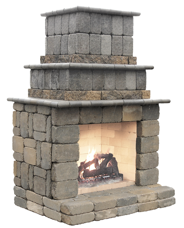 Gorgeous Do It Yourself Outdoor Fireplace Kits Ideas