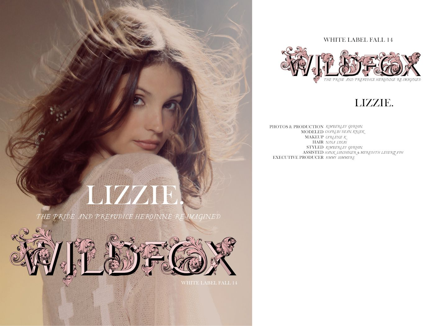 【WILDFOX】Lizzie_Cover
