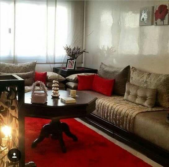 salon s jour marocain 2018 farisdecor. Black Bedroom Furniture Sets. Home Design Ideas