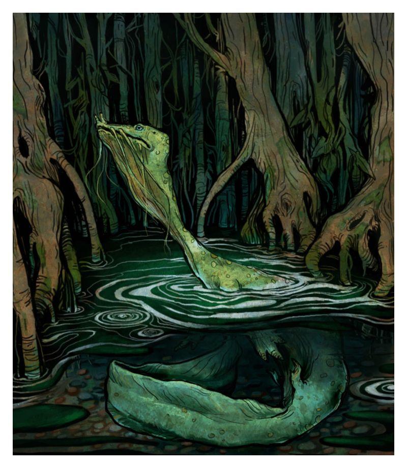 green slime creature by bluefooted.deviantart.com on @deviantART