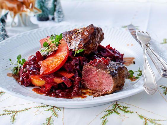 Weihnachtsessen mit Fleisch | LECKER