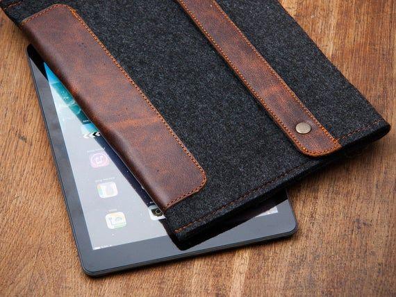 Dark felt Amazon Kindle Fire case. Kindle Oasis case 2020 ...