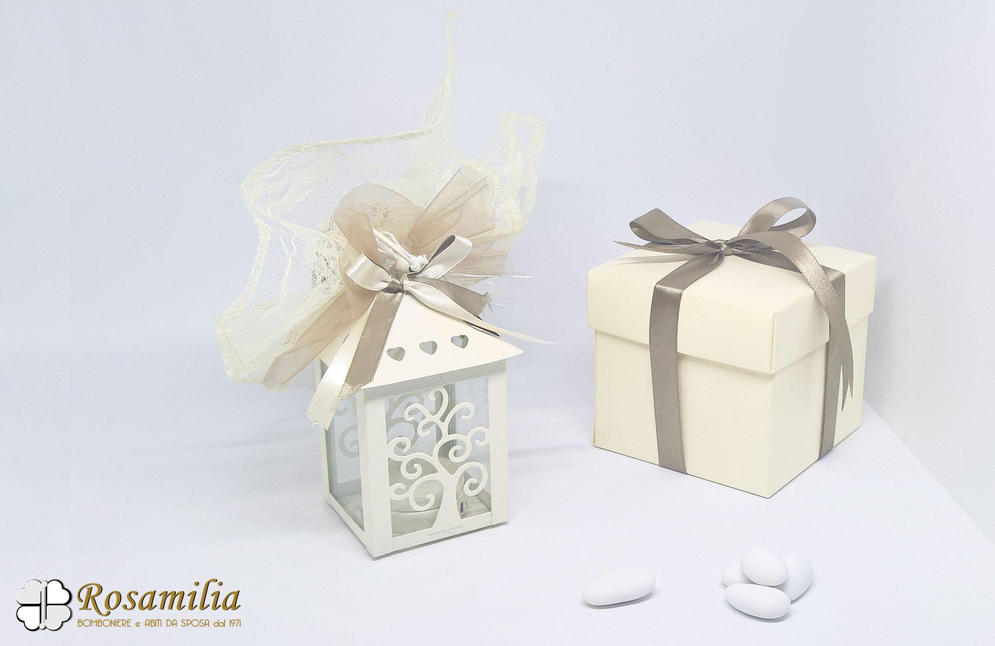 Bomboniere Per Matrimonio.Bomboniere Matrimonio Lanterna Con Albero Della Vita Bomboniere