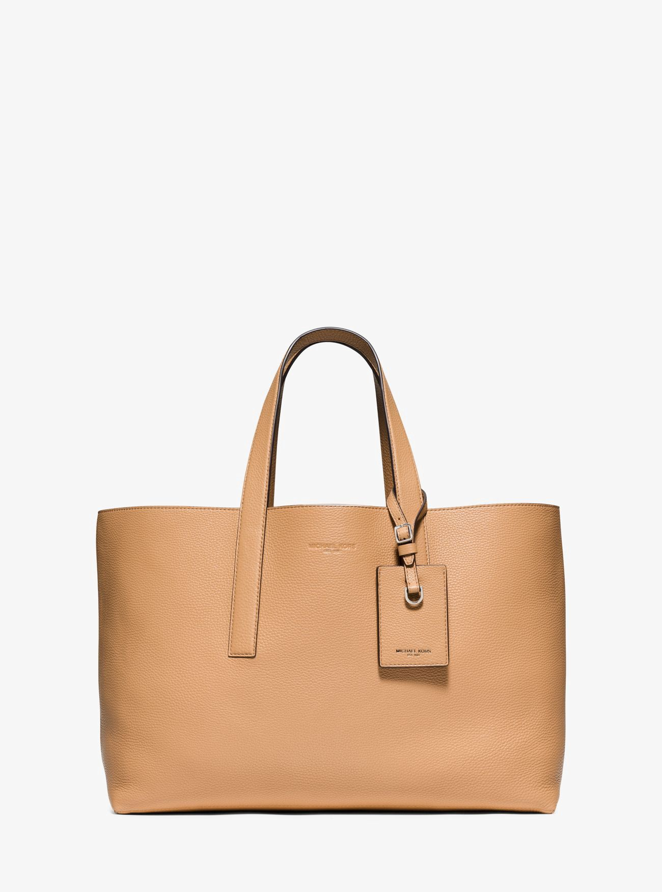 bf281abf1192 MICHAEL KORS Mason Reversible Leather Tote. #michaelkors #bags #shoulder  bags #hand bags #suede #tote #
