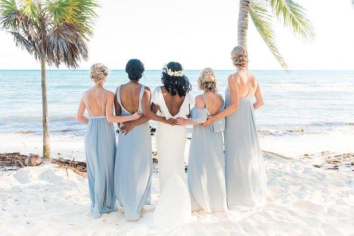 Rhea And Brad S India Meets Australia Canada Beach Wedding In Mexico By Bohemia Del Mar
