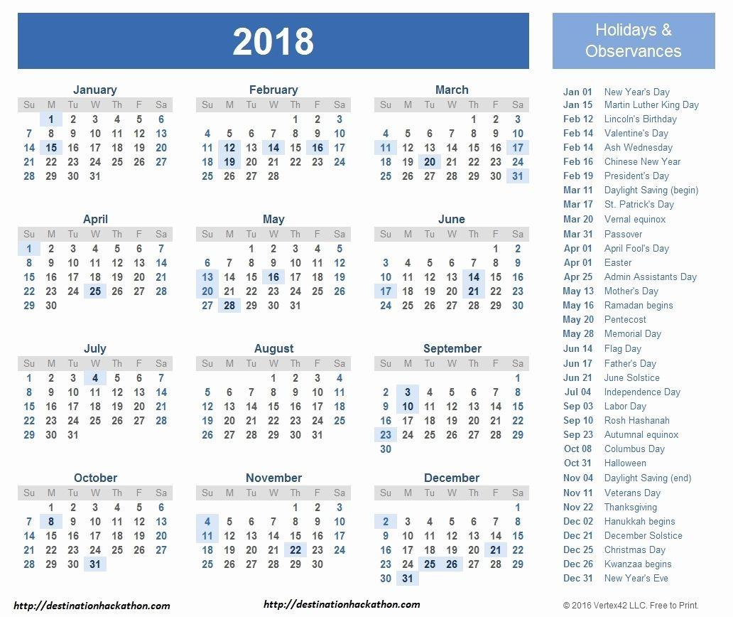 Calendrier Fiscal Particulier 2018 2019 Jewish Calendar 2018 Free